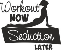 Picture of Workout now seduction later.