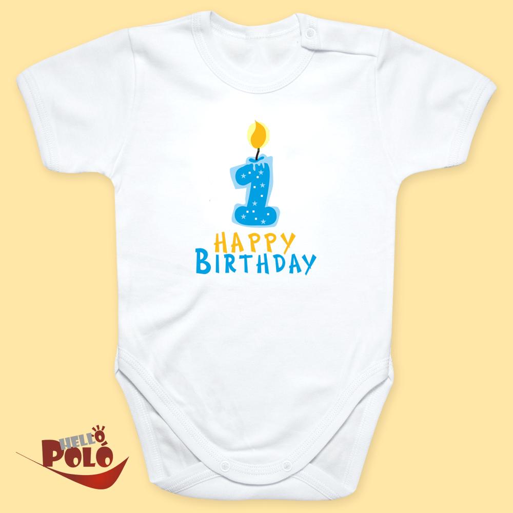 9ea12ec50b Helló póló. Egy éves fiú!