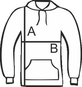 1d6597a42e A következő méretek rendelhetőek unisex pulóverekből: